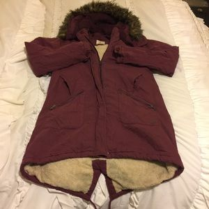 Urban outfitters bomber winter coat
